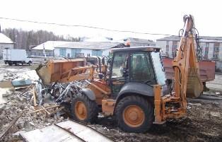 Вывоз строительного мусора Санкт-Петербурге