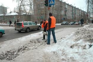 Очистка снега и наледи